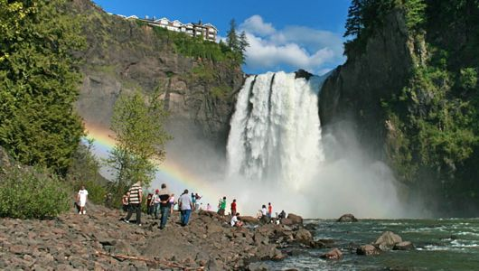 Snoqualmie Falls A Great Attraction For Families In The Seattle Area