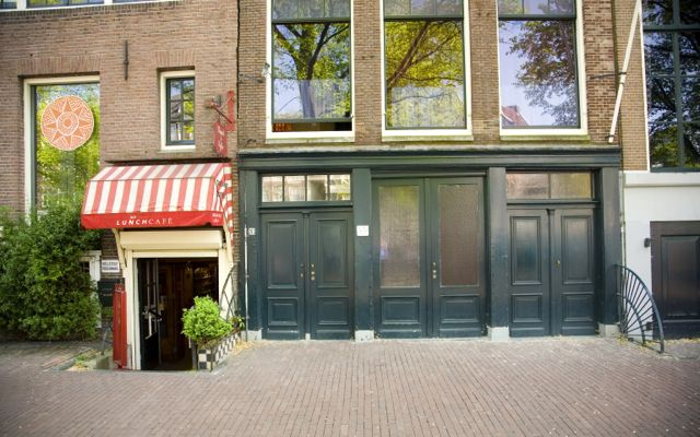 Anne Frank House in Amsterdam.