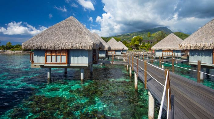 The Best Overwater Bungalows For Families