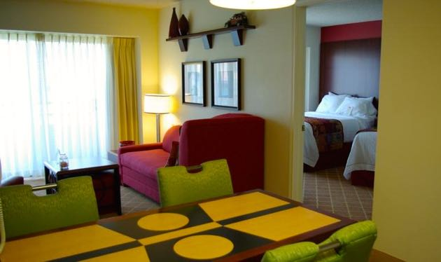 Seattle Residence Inn with Kids