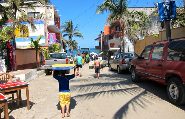Sayulita day trip from Puerto Vallarta – surfing and surf boards.