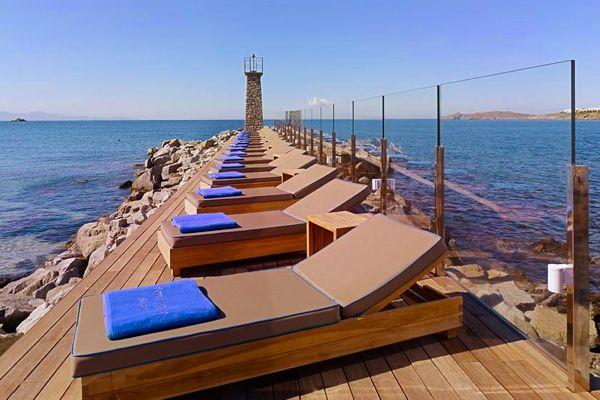 Santa Marina Resort in Mykonos.