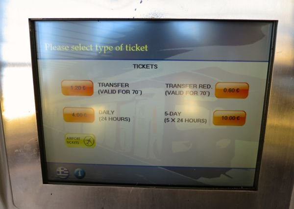 Buying metro tickets at the metro station.