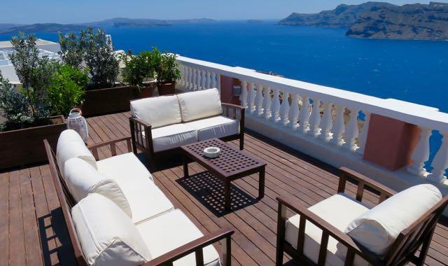 Luxury Villa in Santorini with View