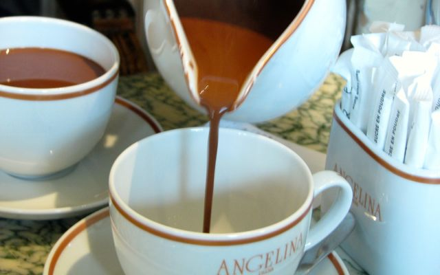 Paris for Kids: hot chocolate at Angelina's
