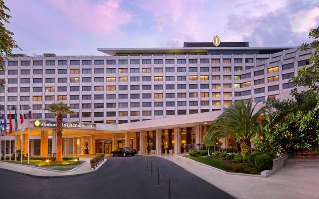 The best business hotel in Athens: Athens Intercontinental.