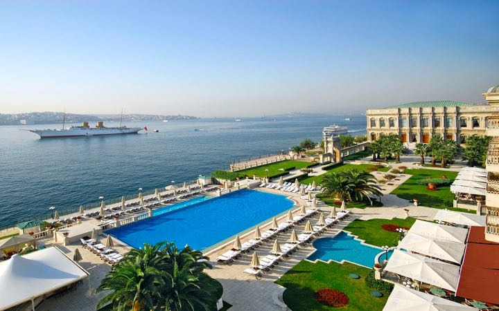 The Best Luxury Hotels in Istanbul: Ciragan Palace by Kempinski