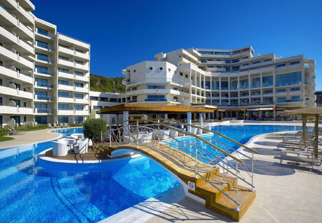 Best Luxury Resort with Beach Front Pool in Rhodes