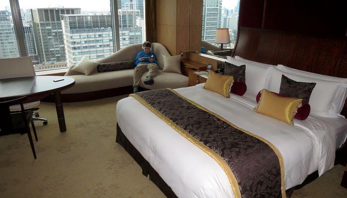 Best luxury hotel near Tokyo Station.