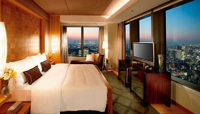 Best luxury otel with great views in Tokyo.