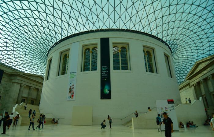 Great Britain's best museum, the British Museum in London