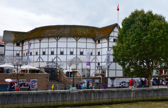 Shakespeare's famous Globe Theatre in London