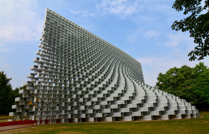 Contemporary art museum in London's Hyde Park