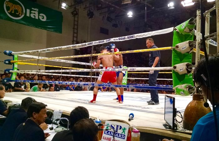 Catch an authentic Muay Thai Boxing match for free on Sunday monrnings