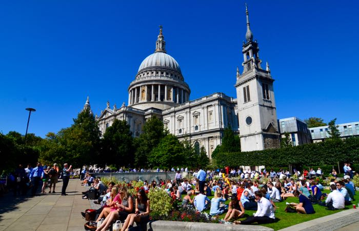 St. Paul's, a historic London cathedral