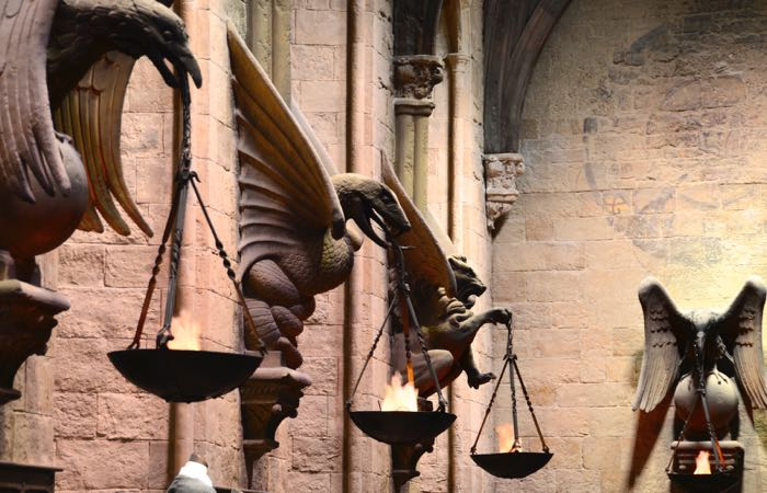 Original Harry Potter movie sets at London's Universal Studios