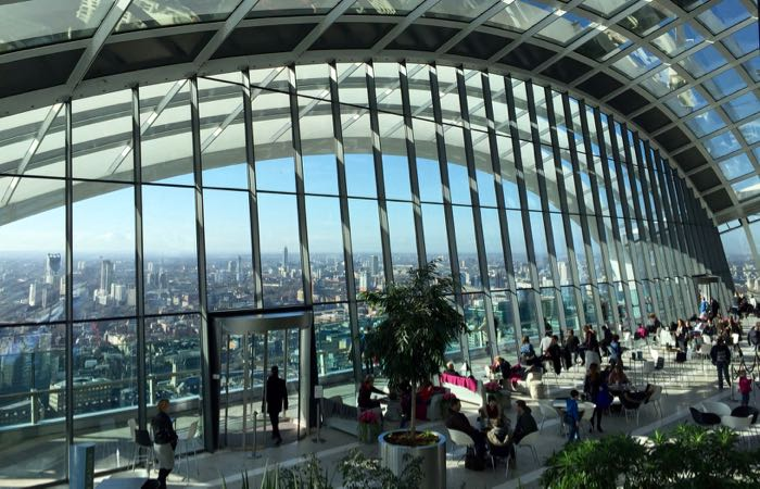 Sky Garden at 20 Fenchurch Street, London