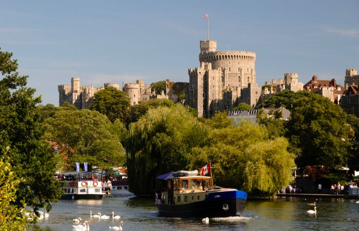 Windsor Castle, the world's largest and oldest castle