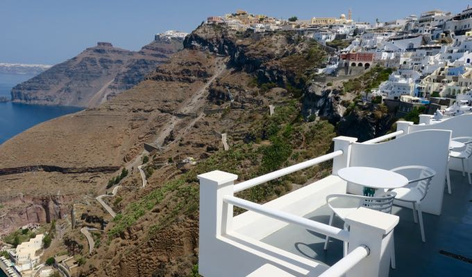 View from Fira.