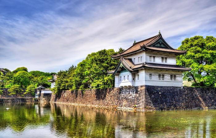 Tokyo's Imperial Palace is the home of Japan's Royal Family