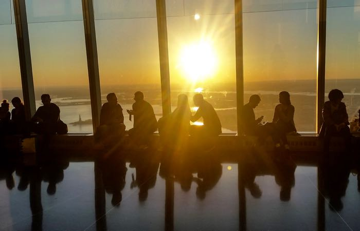 Stunning views from New York City's One World Observatory