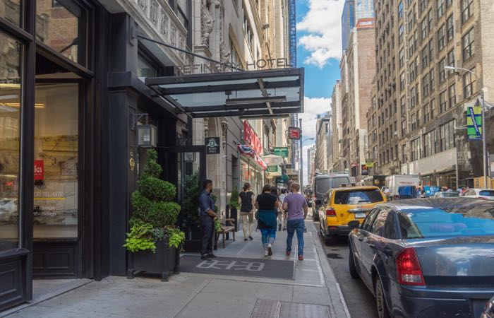 New York's luxury Refinery Hotel