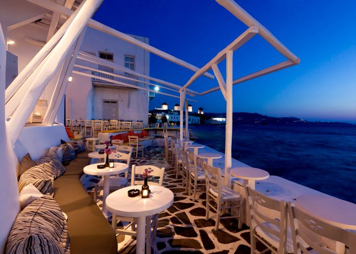The best greek island for clubs and nightlife is Mykonos.