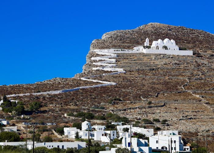 The best greek island for walks and hiking.