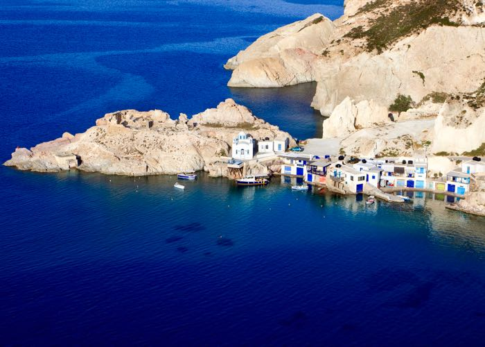 The best greek island for scenery and natural beauty.