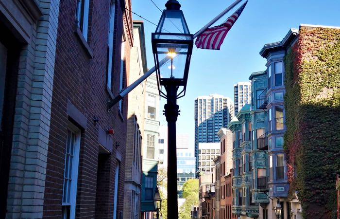 Boston's Beacon Hill Neighborhood.