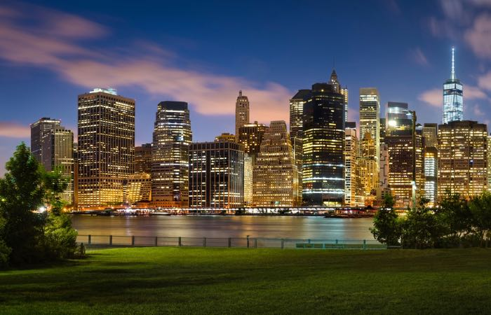 New York's Brooklyn Bridge Park has lots to do and great views of Manhattan.
