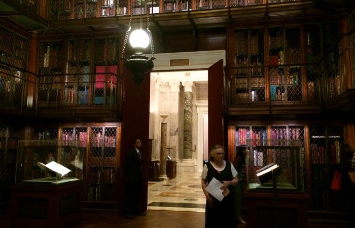 Pierpont Morgan's Library is a gothic masterpiece, open to the public.