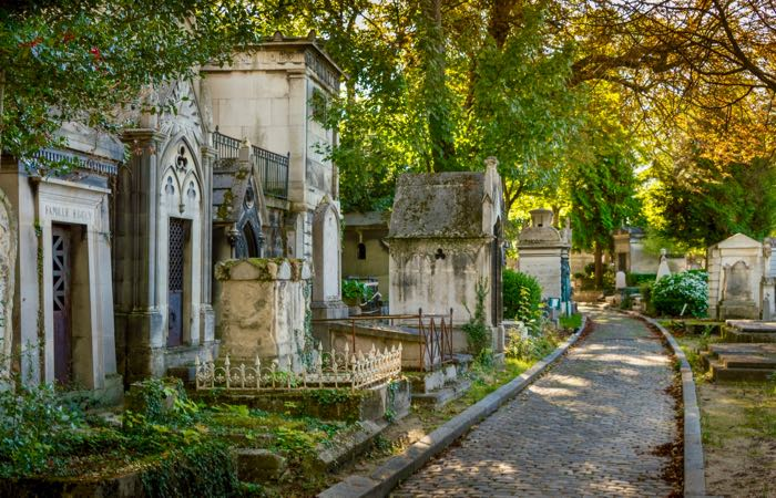 Cemetery of Pere Lachaise, Paris, France