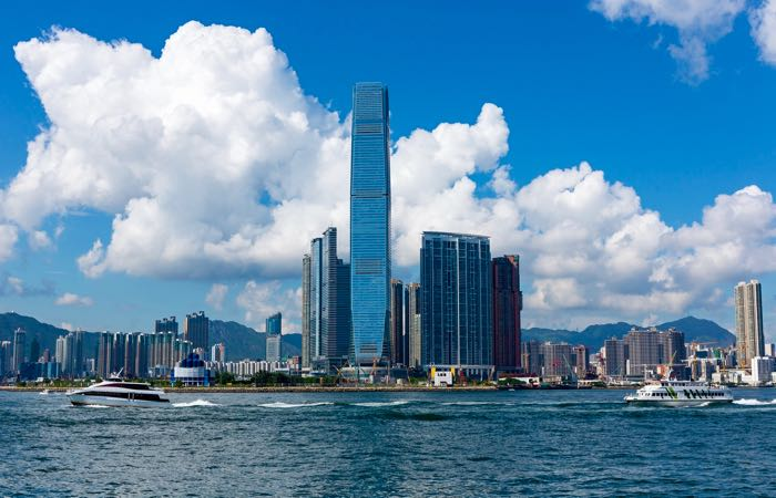 The best hotels and restaurants in West Kowloon, Hong Kong