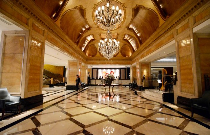 The Langham, an old world luxury hotel in the heart of Tsim Sha Tsui, Hong Kong.