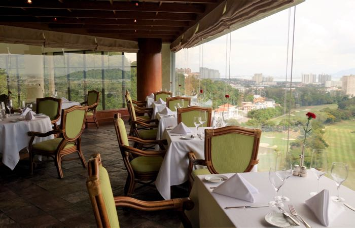 The View restaurant in Penang's Hotel Equatorial