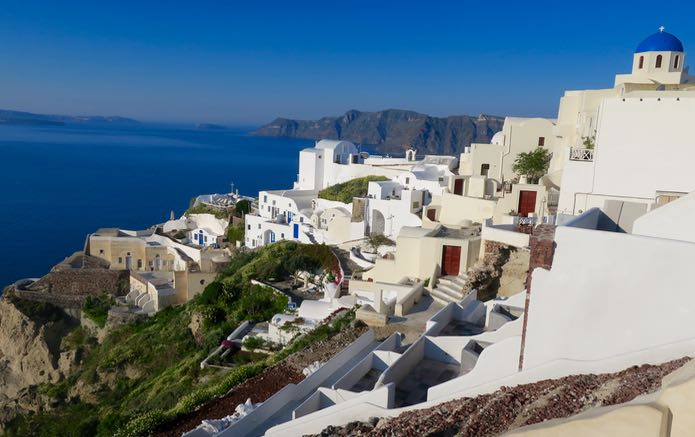 Tour of Oia, Santorini from Athens, Greece
