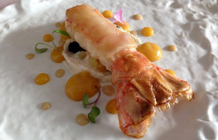 Abantal Michelin-starred restaurant in Seville
