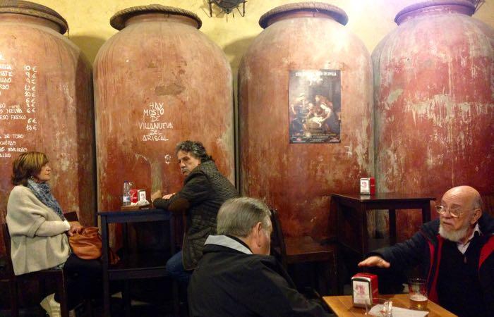Casa Morales restaurant in El Arenal, Seville