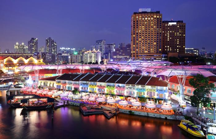 Singapore's best Clarke Quay bars. clubs, and restaurants