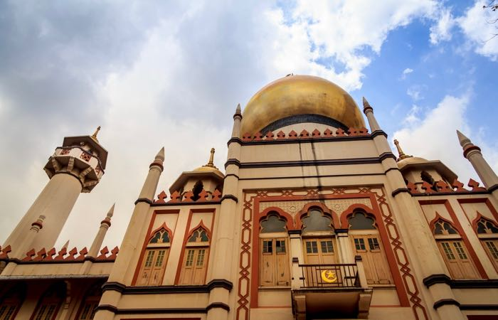 Masjid Sultan Mosque on Singapore's Kampong Glam Heritage Trail