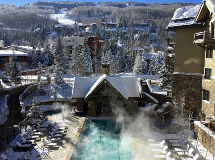 The best luxury hotel for families in Vail, Colorado ski resort.