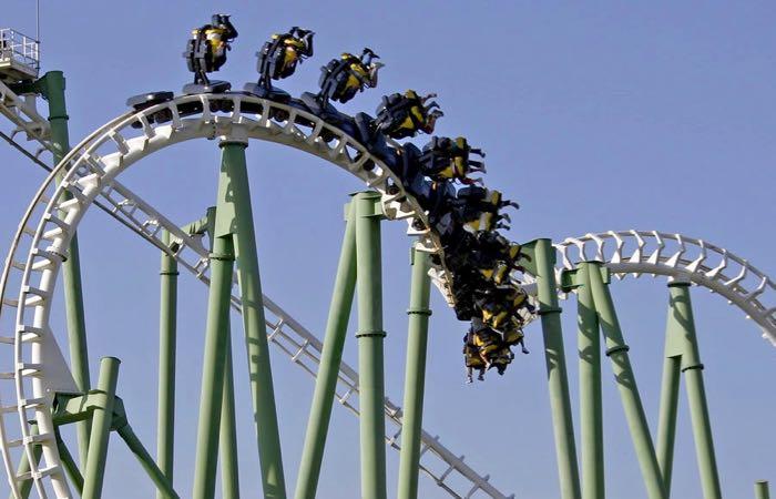 Isla Magica amusement park in Seville, Spain
