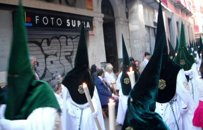 Holy week processions in Seville, Spain