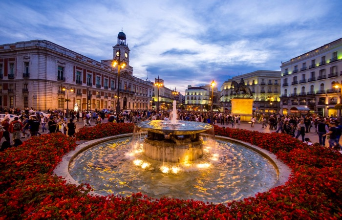 Where to stay and eat neat Puerta del Sol in Madrid, Spain