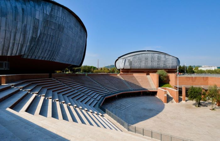 Rome's Auditorium Music Park is a great concert venue any time of the year.
