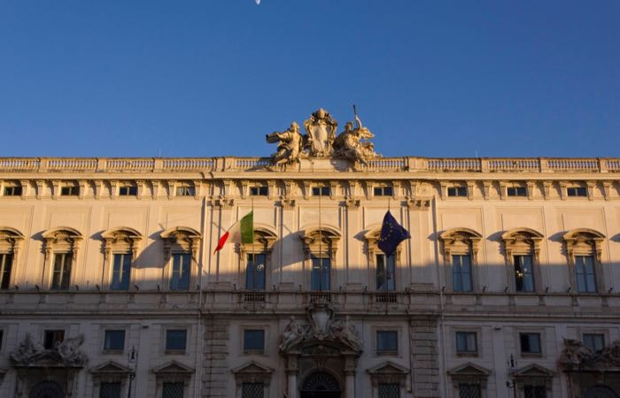 The Palazzo Quirinale, Rome's presidential palace