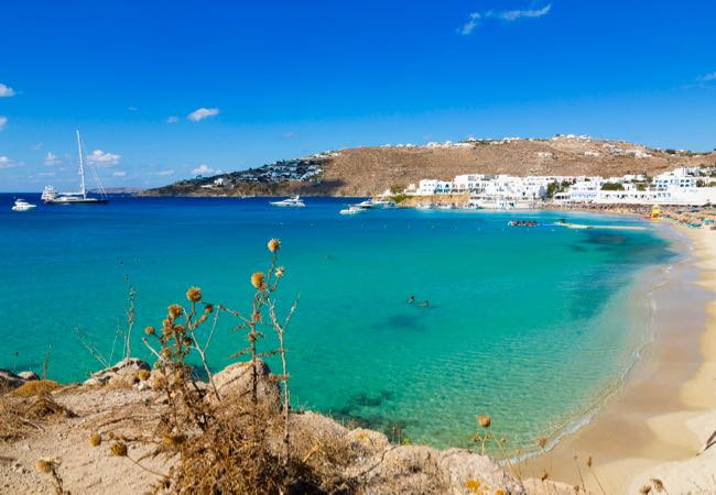 Mykonos, Greece in Europe.