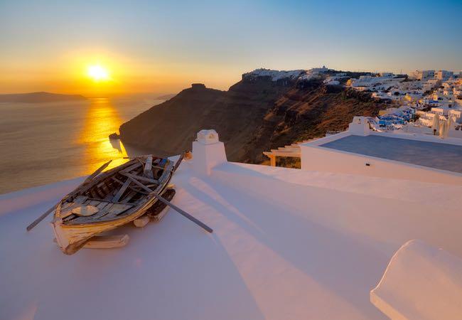 Santorini, Greece in Europe