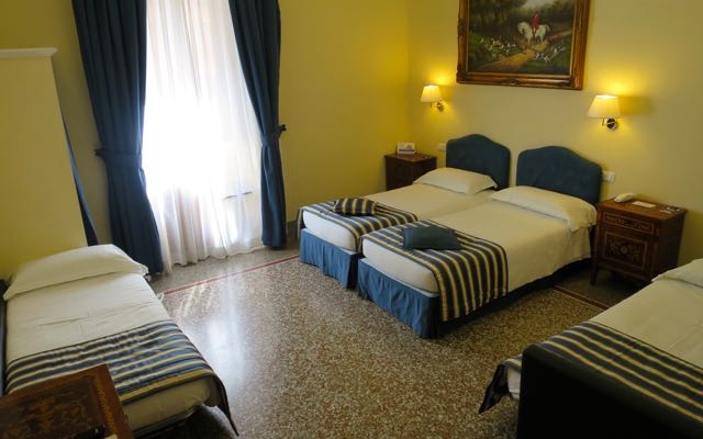 Good inexpensive family hotel in Rome.